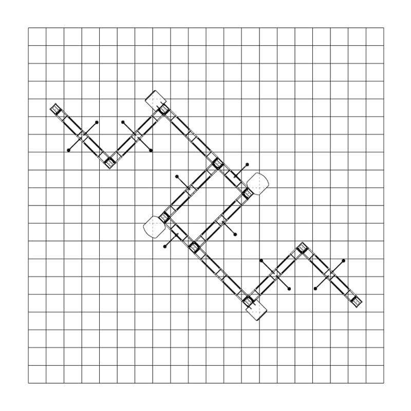 20 x 20 Industrial Display - Alameda floorplan