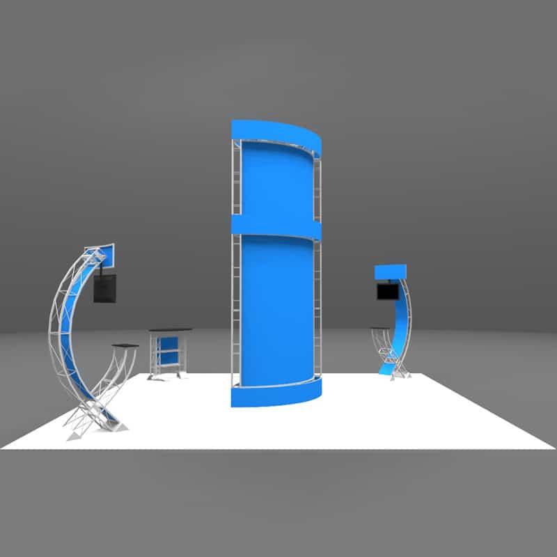 20 x 20 Easy Setup Display - Coronado, graphics callout render