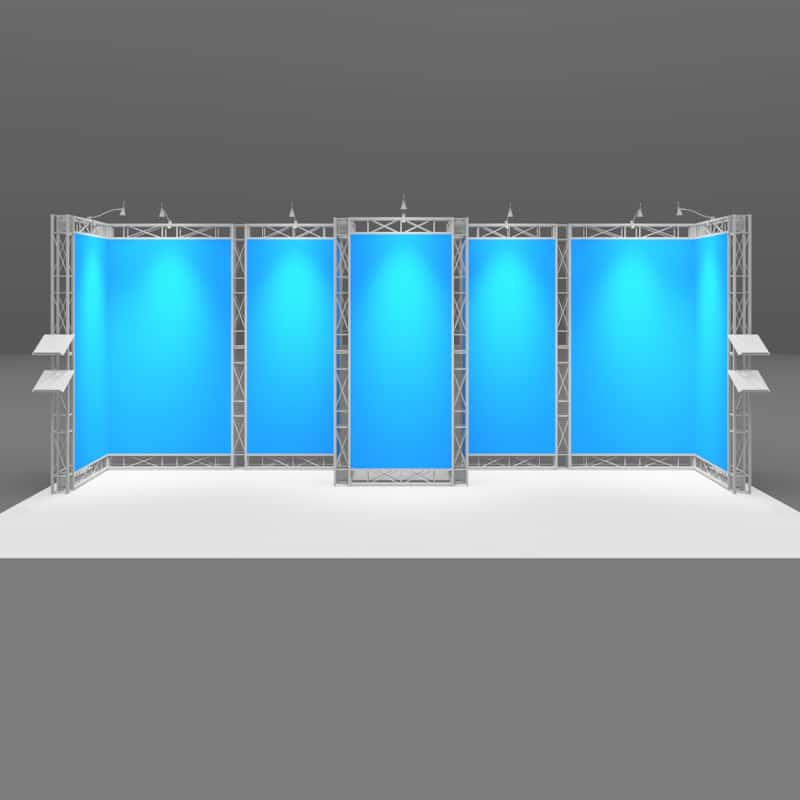 20 x 8 Industrial Display with choice of hardware or hardware with graphics