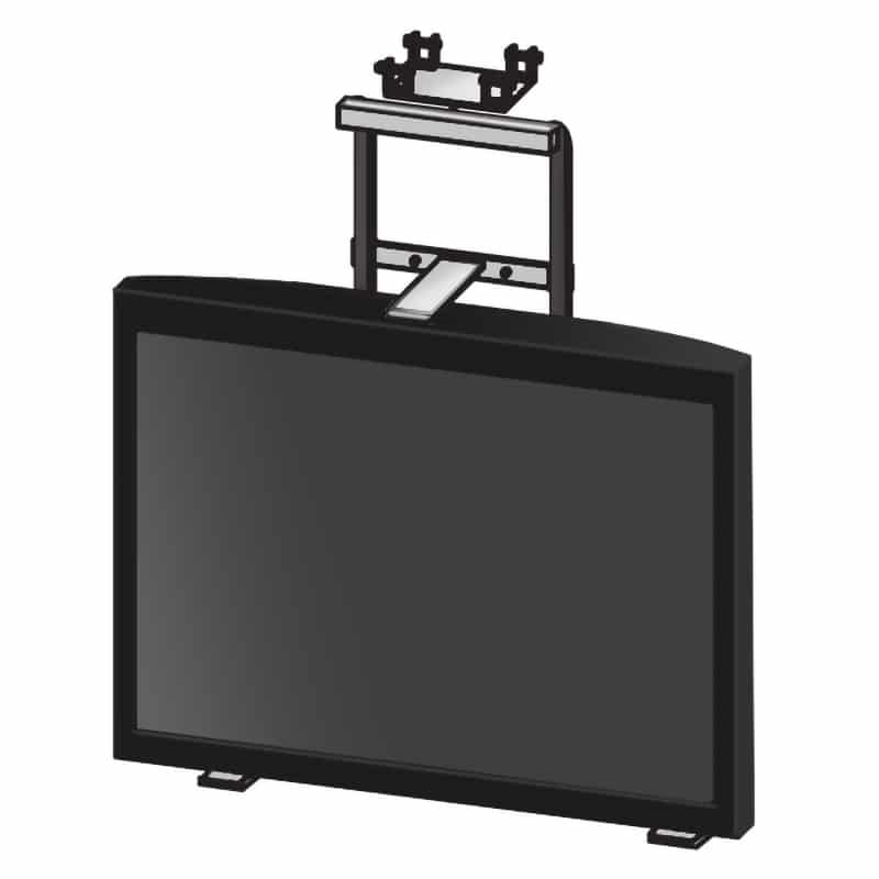 TRS-TW-EZ6-Plasma, mount with monitor