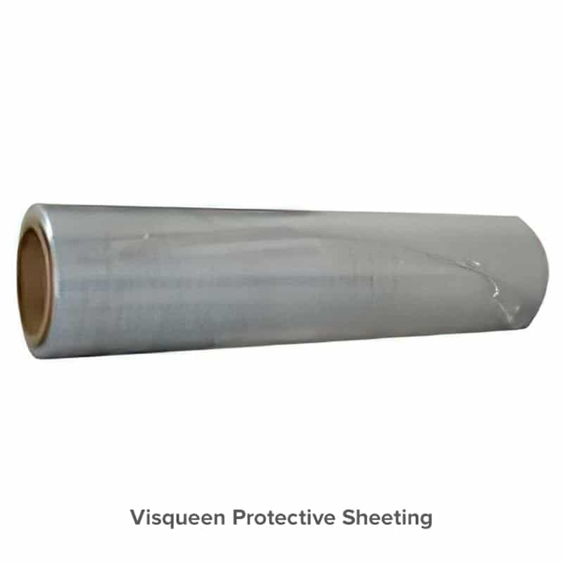 roll of visqueen plastic sheeting
