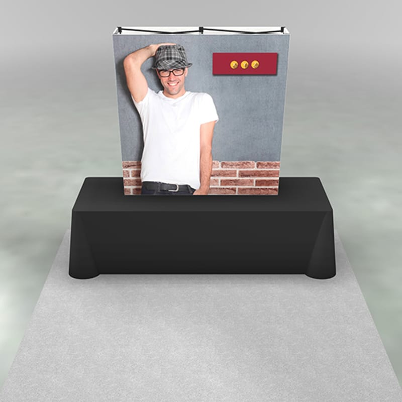 5 Foot SEG Display X1s is versatile and lightweight. Includes graphic.