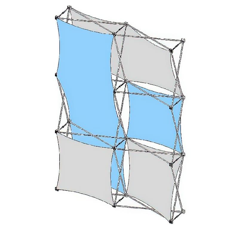 2×3 XSNAP Kit B fabric display skins