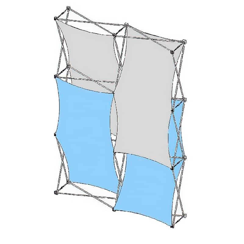 XSNAP 2×3 Kit D 3d fabric display skins
