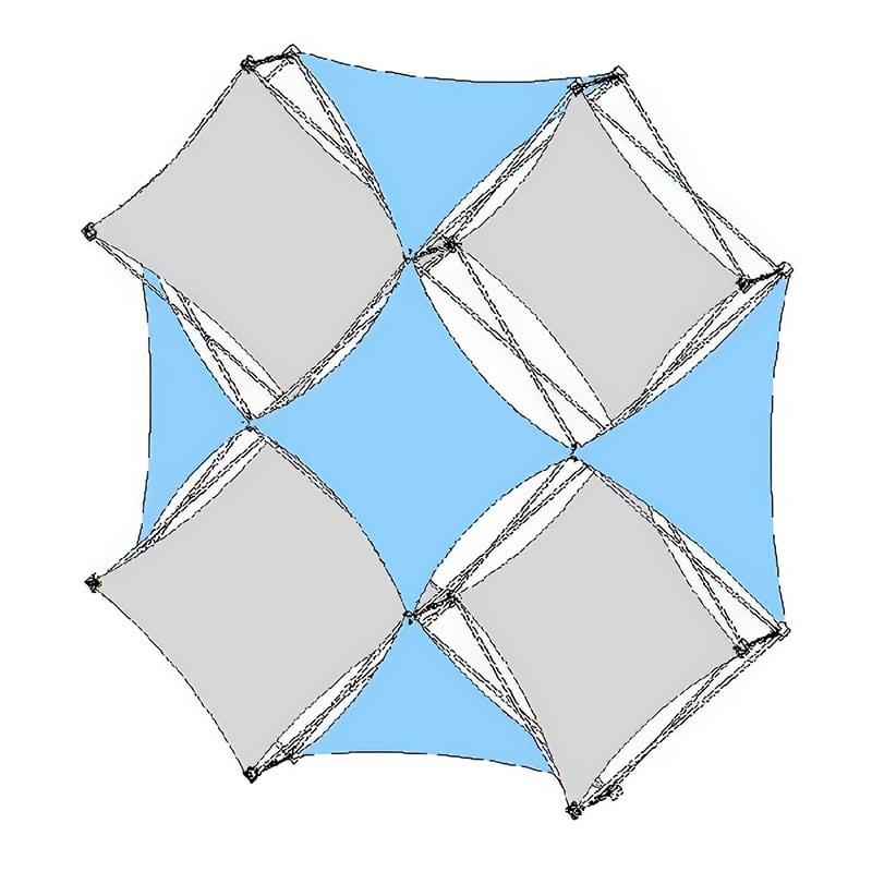 XSnap Kit J 5QX lightweight fabric display skins