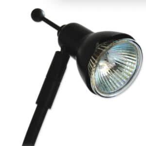 50 Watt Arm light-up close image of light